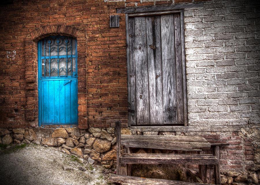 Blue Door by Stephen Dennstedt