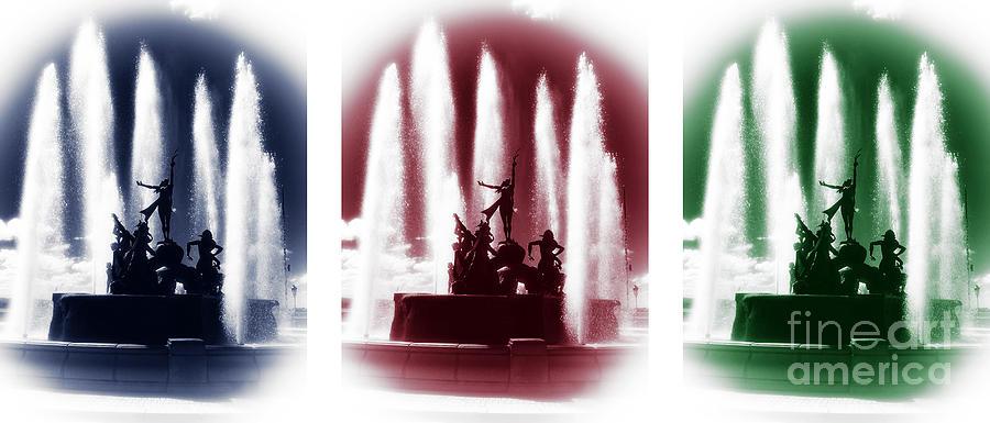 San Juan Fountain Colors Photograph - San Juan Fountain Colors by John Rizzuto