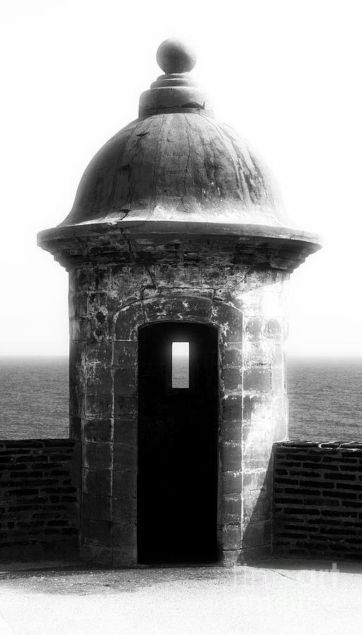 San Juan Guard Tower Photograph - San Juan Guard Tower by John Rizzuto