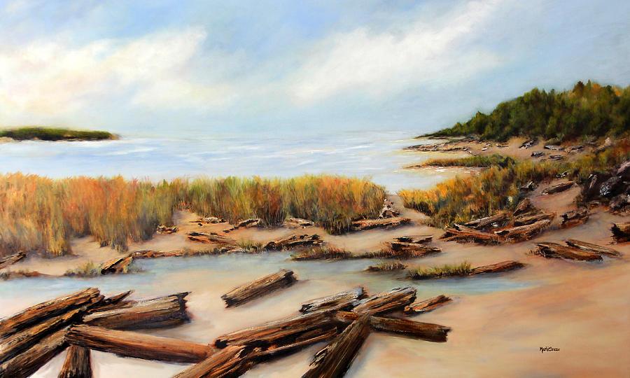 San Juan Islands Painting - San Juan Islands by Marti Green