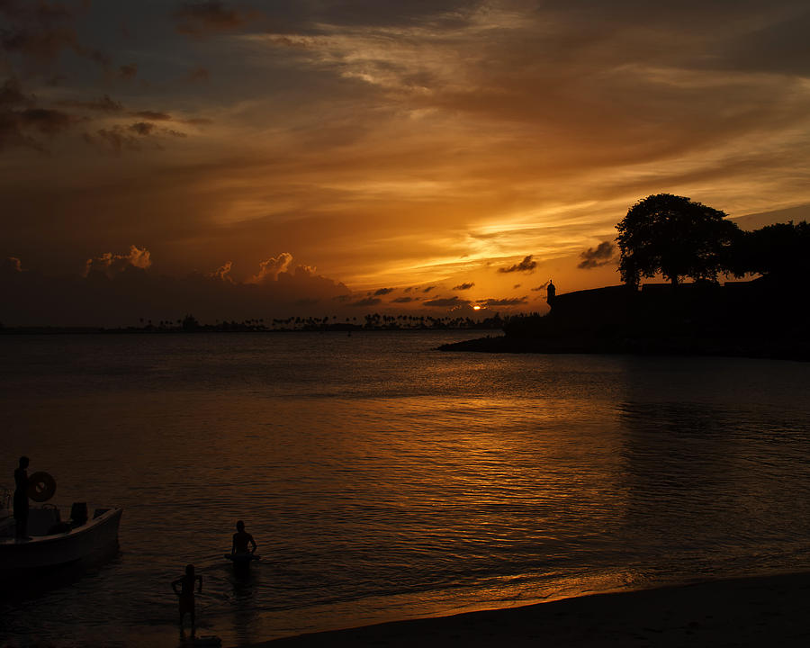 Sunset Photograph - San Juan by Mario Celzner