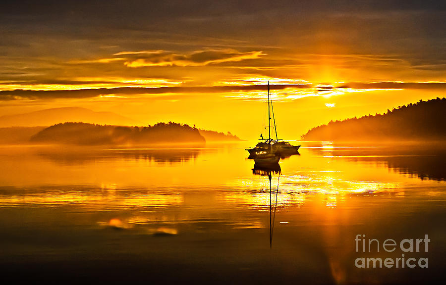 San Juan Island Photograph - San Juan Sunrise by Robert Bales