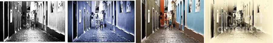 San Juan Tones Collage Photograph - San Juan Tones Collage by John Rizzuto