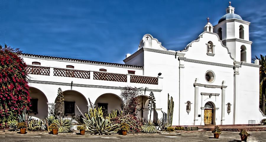 San Luis Rey Mission Photograph By Jon Berghoff