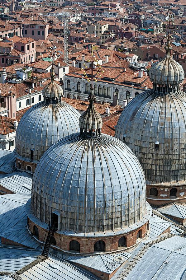 Venice Photograph - San Marco Basilica. Venice. by Fernando Barozza