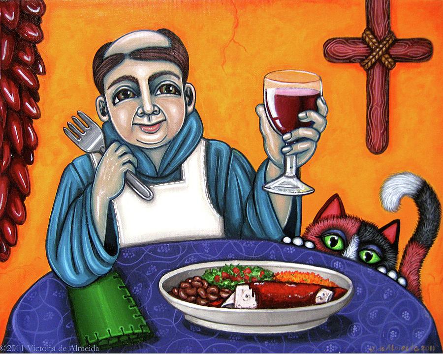 San Pascual Painting - San Pascual Cheers by Victoria De Almeida