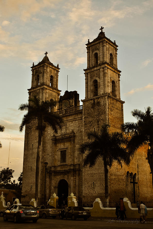 Cathedral Photograph - San Servacio O Gervasio by BandC  Photography
