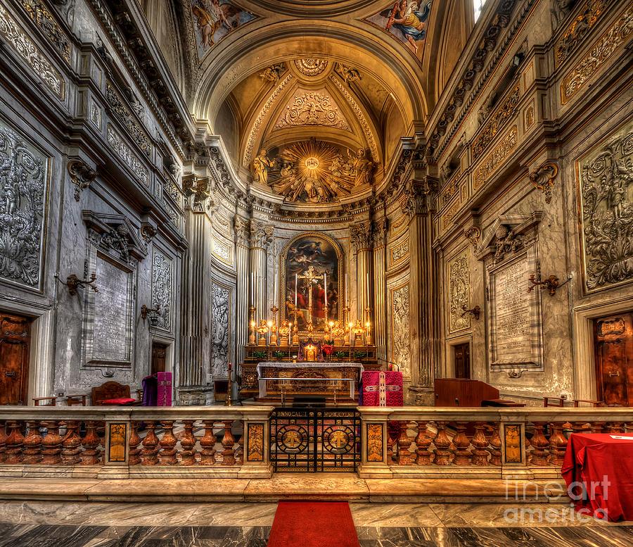 Detail Photograph - San Vincenzo Trevi by Yhun Suarez