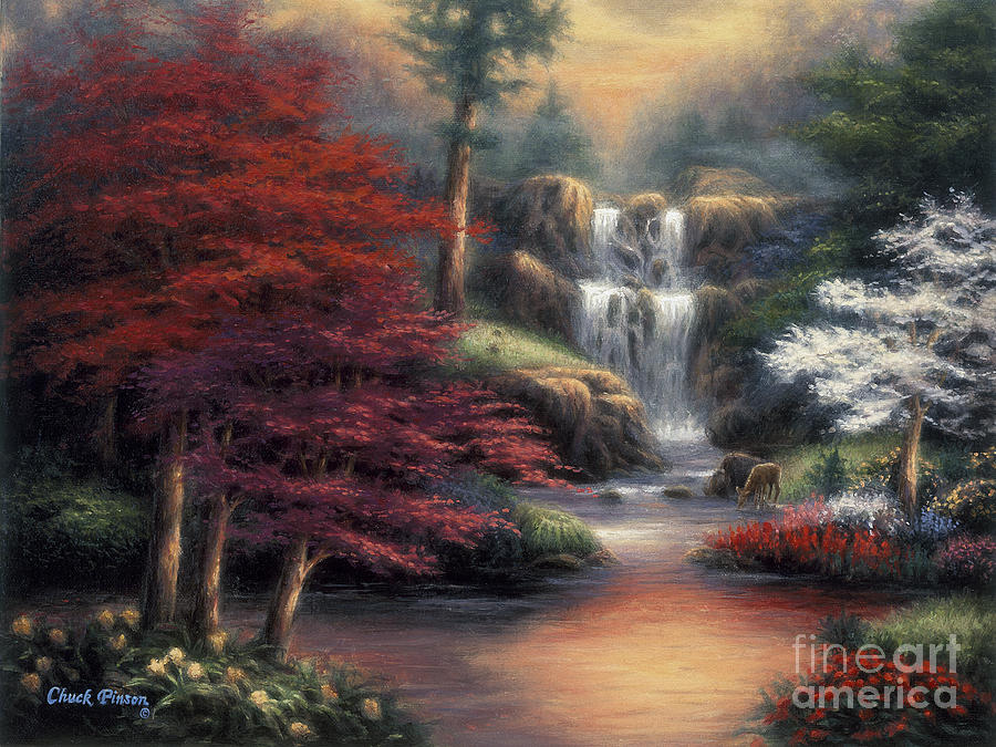Gift Painting - Sanctuary by Chuck Pinson