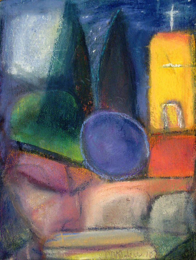 Expressionist Painting - Sanctuary by Tolere