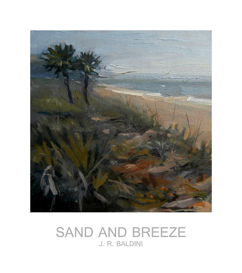 Sand Painting Painting - Sand And Breeze by J R Baldini