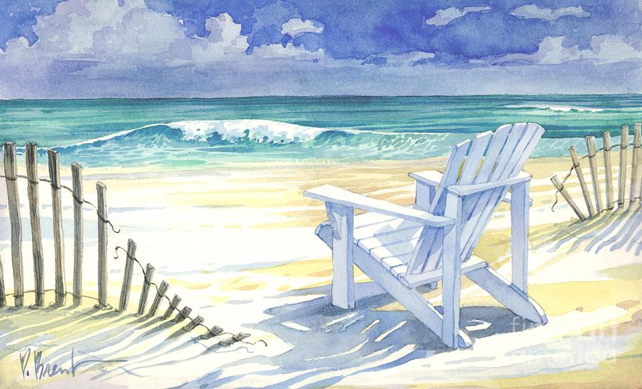 Sand And Shadows Painting By Paul Brent
