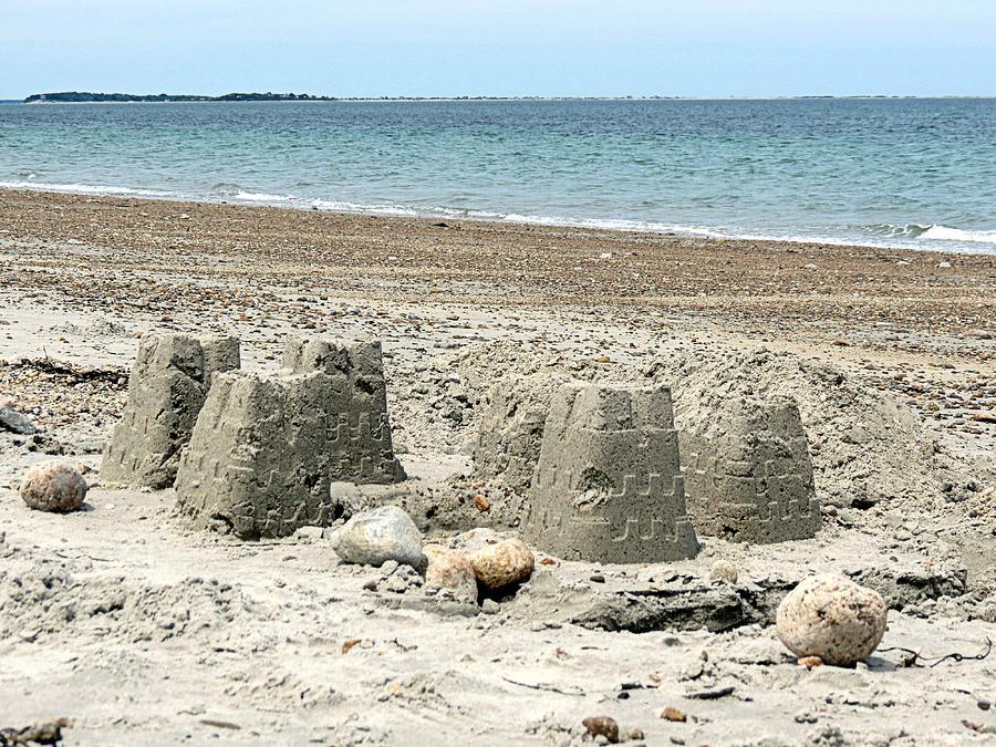 Sand Castle Photograph - Sand Castle by Janice Drew