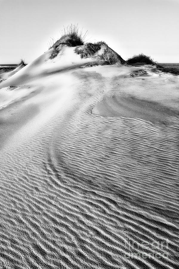 Outer Banks Photograph - Sand Dune Textures - Outer Banks II by Dan Carmichael