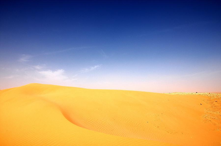 Sand Dunes Photograph - Sand Dunes by Manu G
