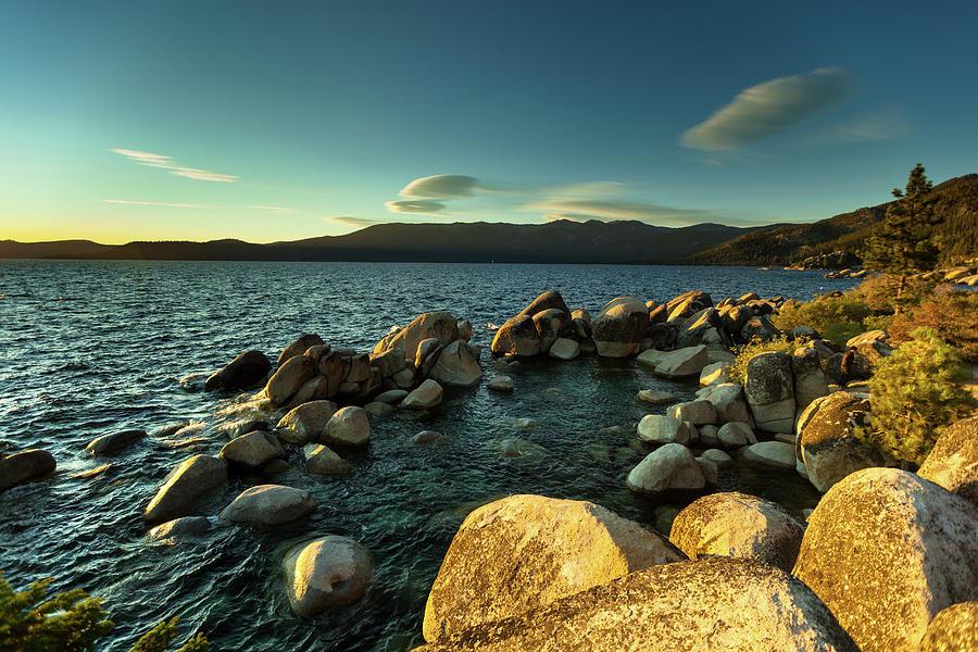 Sand Harbor, Lake Tahoe Photograph by Halbergman