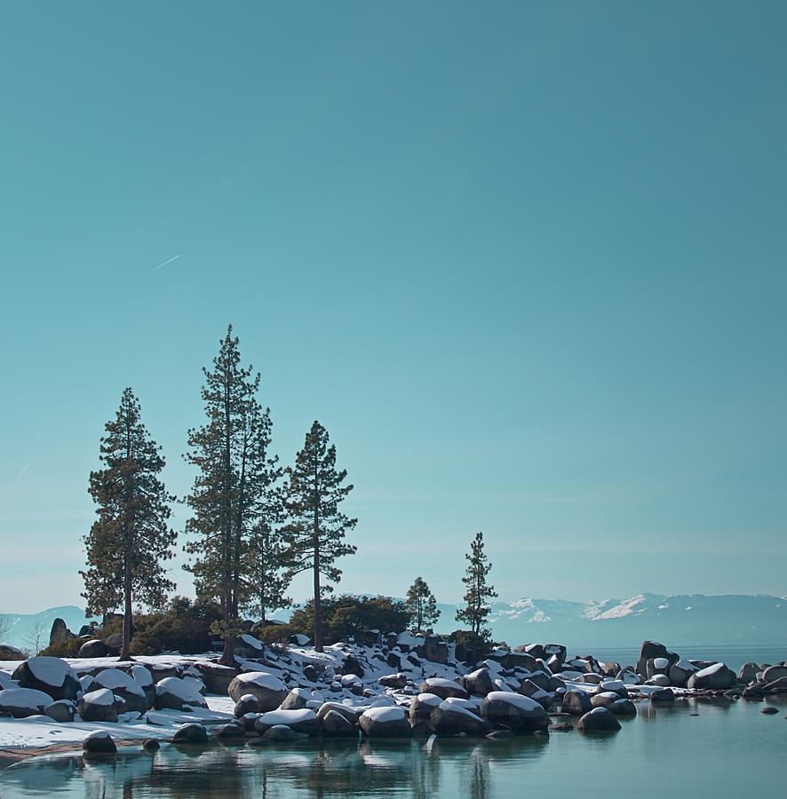 Landscape Photograph - Sand Harbor-lake Tahoe by Kim Hojnacki