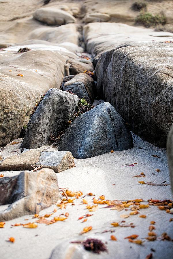 Beach Photograph - Sand Pyramids by Peter Tellone