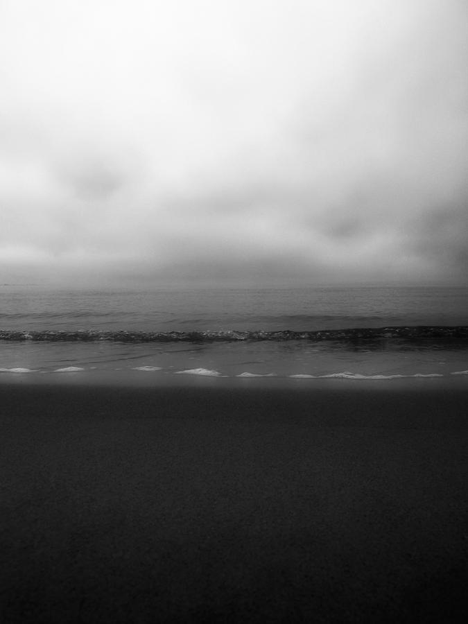 Black And White Photograph - Sand Sea Sky Dream by Joseph Hedaya
