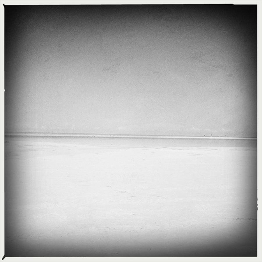 Siesta Key Photograph - Sandbar by Alison Maddex