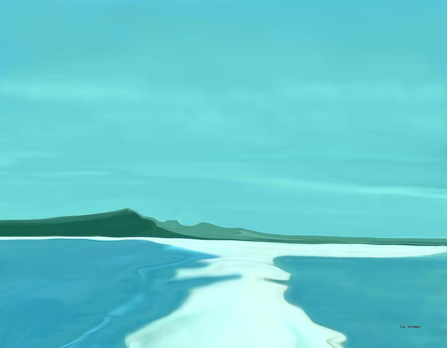Sandbar Painting - Sandbar by Tim Stringer