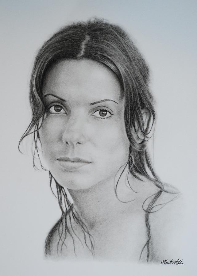sandra drawing by brent mileham
