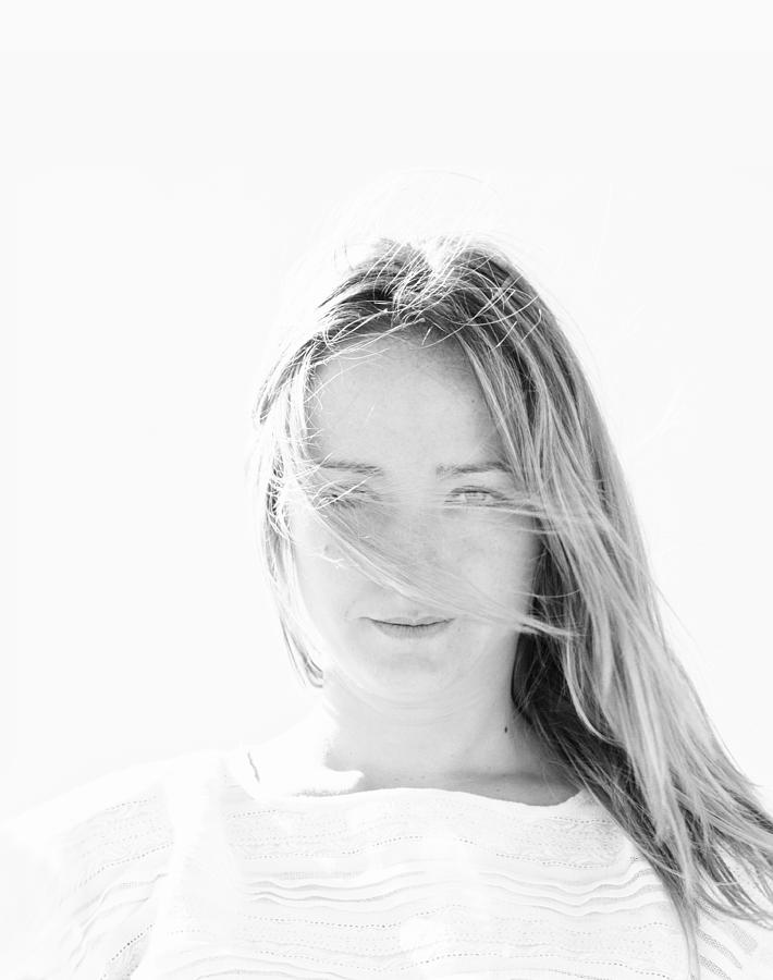 Girl Photograph - Sandra by Herbert Seiffert