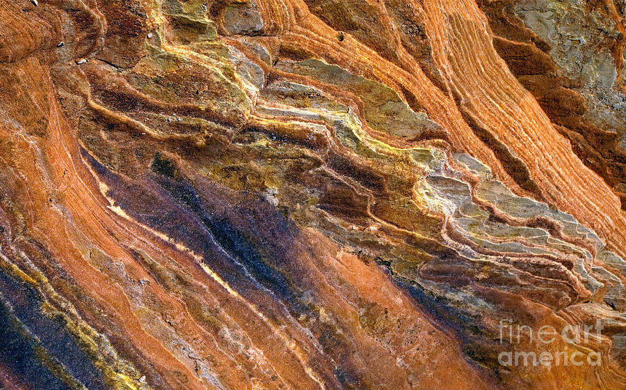 Sandstone Photograph - Sandstone Tapestry by Mike  Dawson