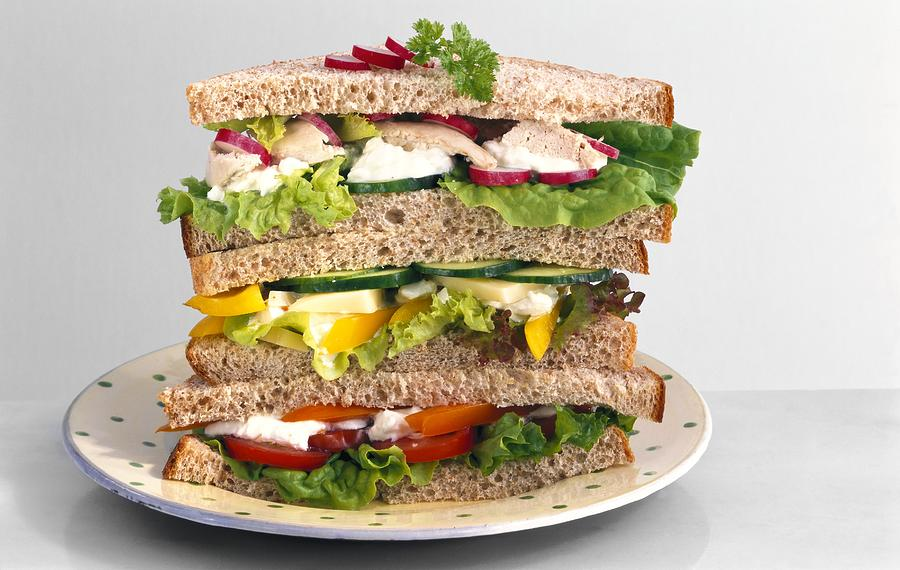 Biology Photograph - Sandwiches by Science Photo Library