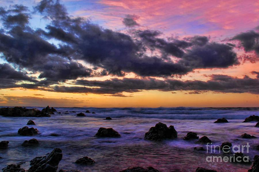 Sandy Beach Photograph - Sandy Beach South Shore Oahu Hawaii by Leslie Kirk