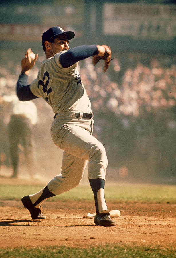 Marvin Newman Photograph - Sandy Koufax  by Retro Images Archive