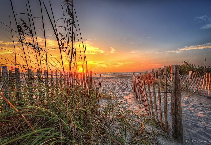 Sandy Sunrise by Bill Averette
