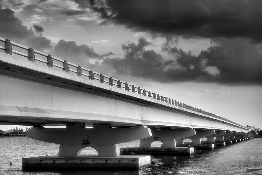 Road Photograph - Sanibel Causeway II by Steven Ainsworth
