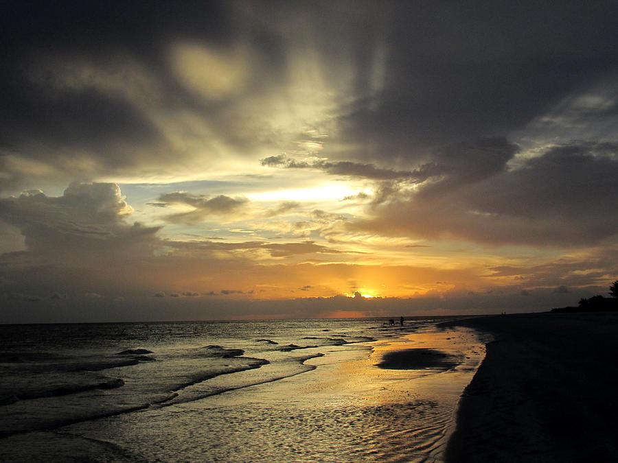 Sanibel Photograph - Sanibel Sunset by Rosie Brown