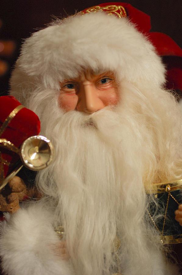 Santa Claus Photograph - Santa Claus - Antique Ornament - 17 by Jill Reger