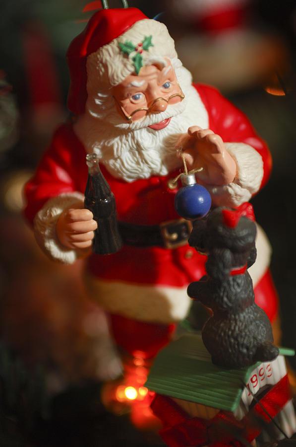 Santa Claus Photograph - Santa Claus - Antique Ornament - 33 by Jill Reger