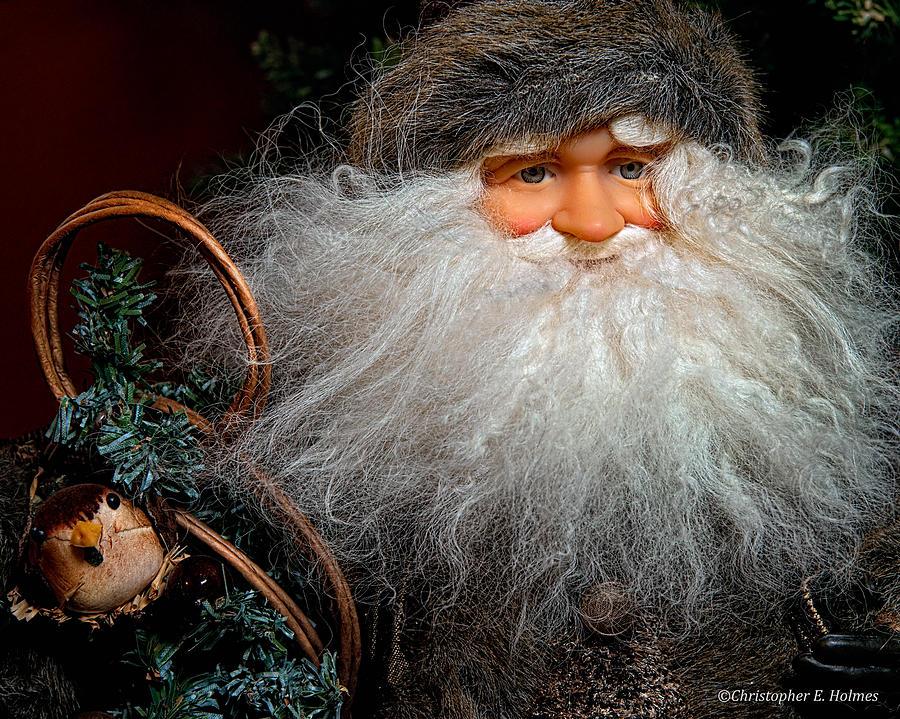 Santa Clause Photograph - Santa Claus by Christopher Holmes
