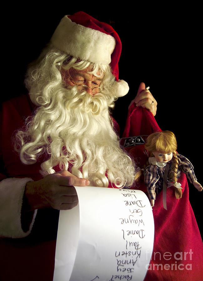 Santa Claus Photograph - Santa Claus by Diane Diederich