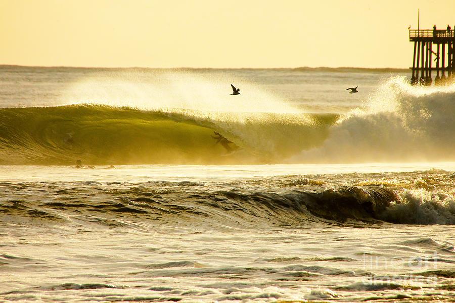 Surfing Photograph - Santa Cruz Surfers Dream by Paul Topp