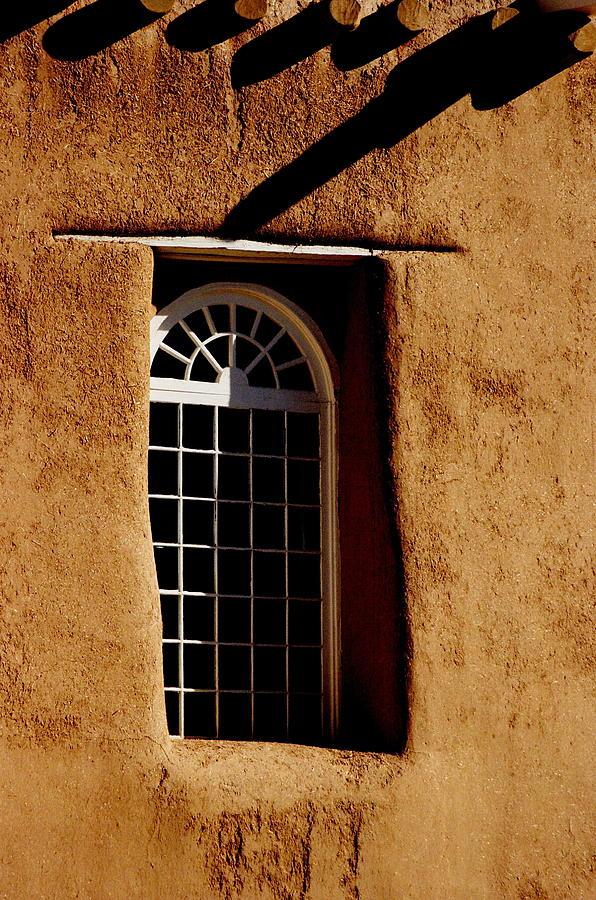 Santa Fe Photograph - Santa Fe Nm Window by Jacqueline M Lewis