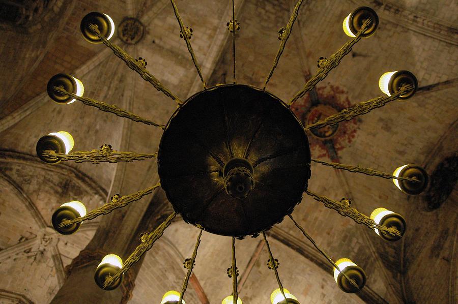 Basilica Photograph - Santa Maria Del Mar Basilica IIi by Kathy Schumann