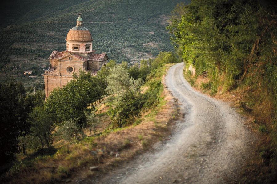 Landscape Photograph - Santa Maria Nuova by Clint Brewer