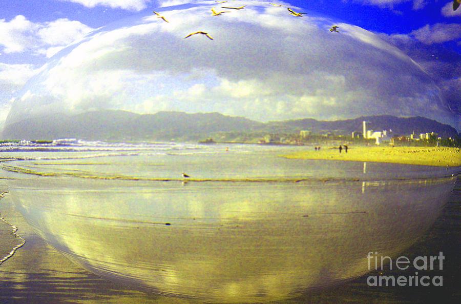 Santa Monica Photograph - Santa Monica Beach by Jerome Stumphauzer