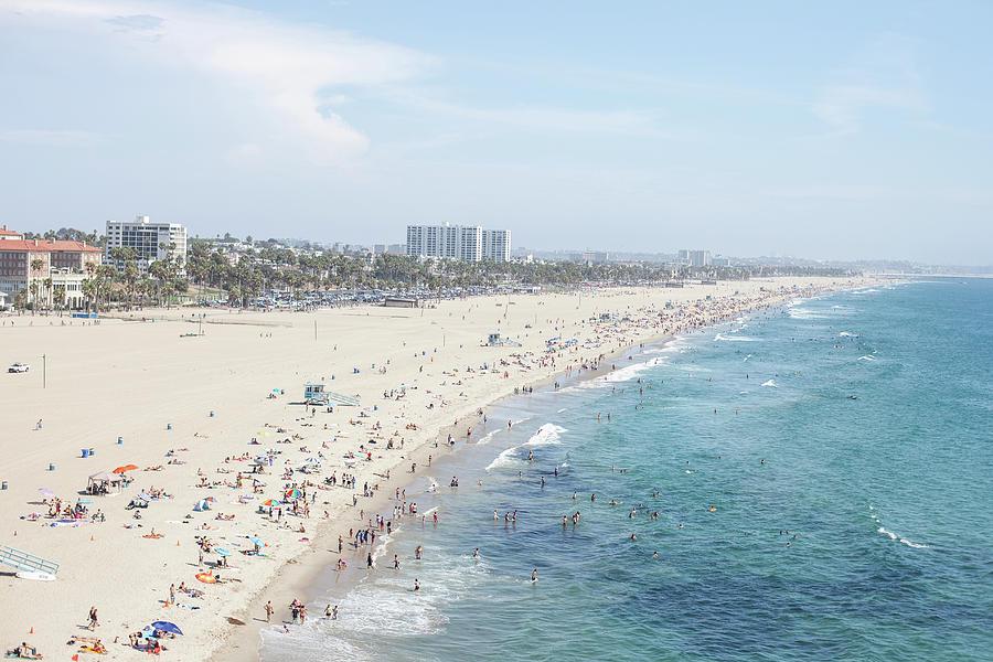 Santa Monica Beach Photograph by Tuan Tran