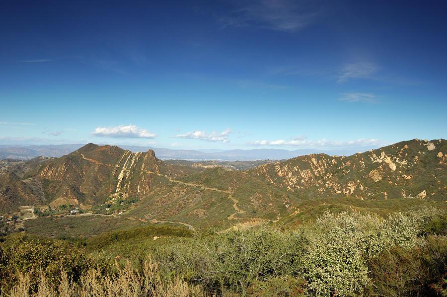 Santa Monica Mountains Photograph by Adiabatic