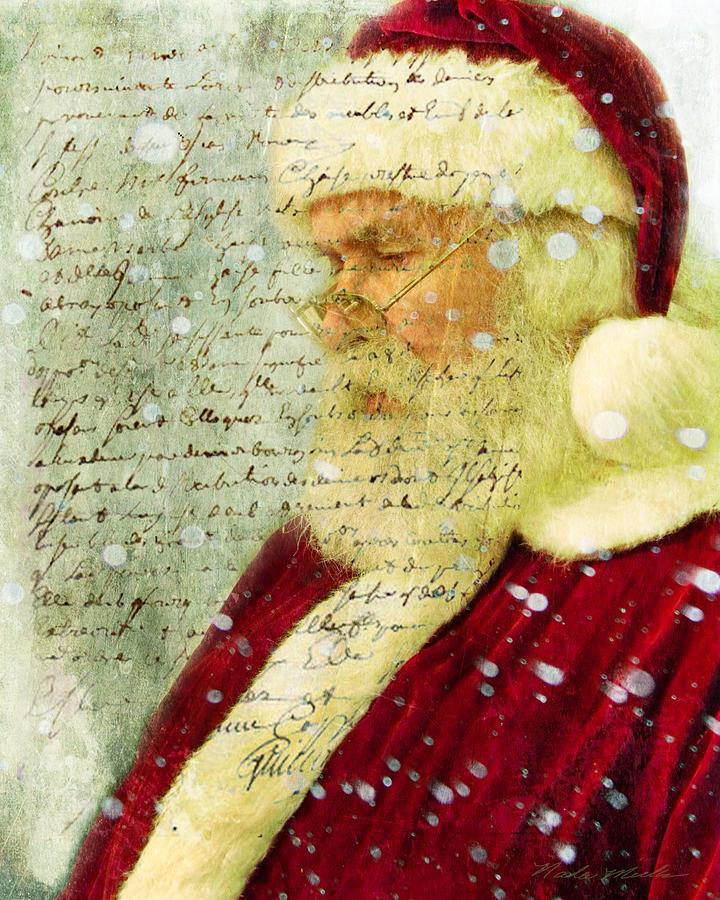 Santas Letter  by Nada Meeks