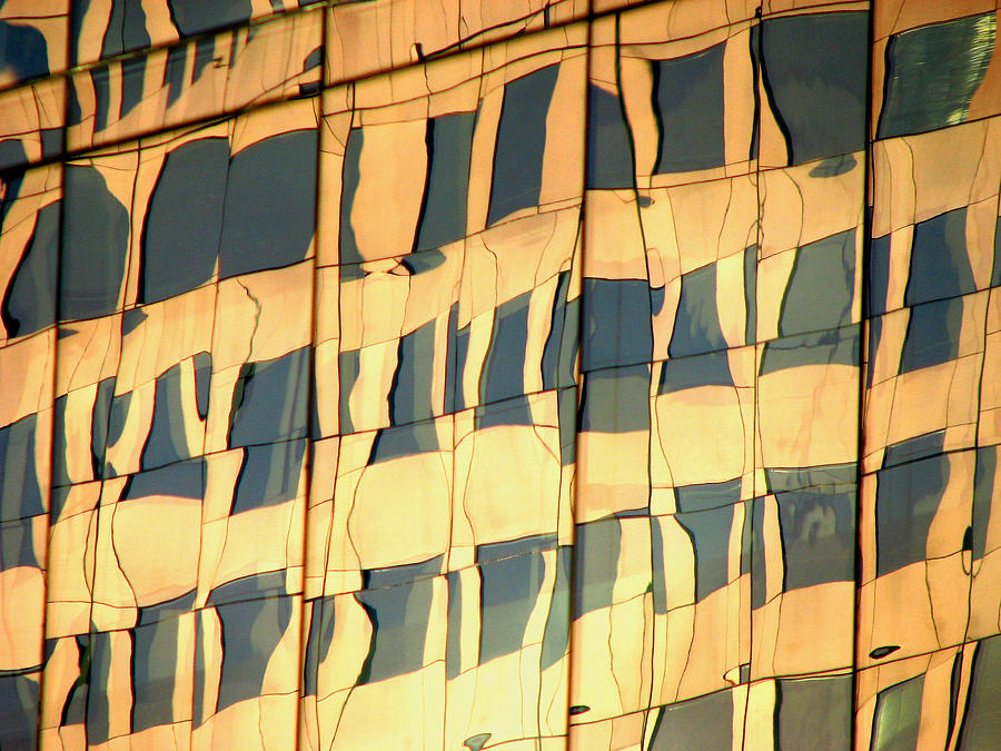 Abstract Photograph - Santiago Reflection II by Rick Locke