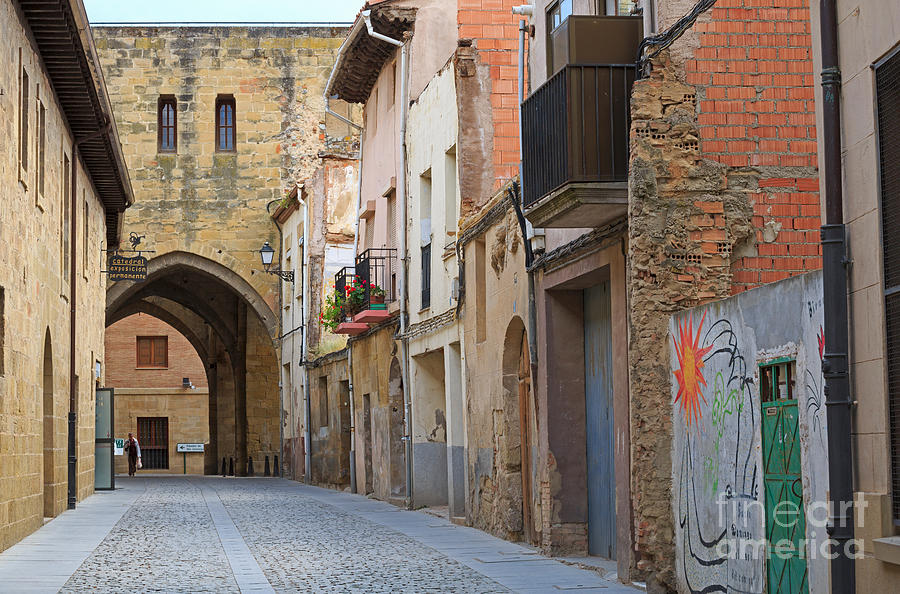 Narrow Photograph - Santo Domingo De La Calzada by Louise Heusinkveld