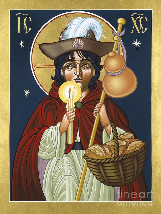 Icon Painting - Santo Nino de Atocha 133 by William Hart McNichols