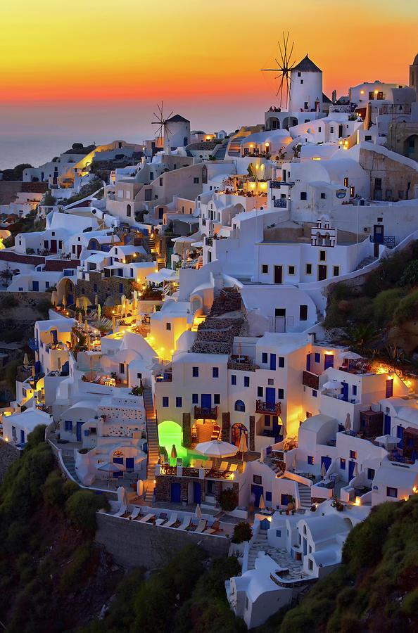 Greece Photograph - Santorini by Paduroiu Claudiu